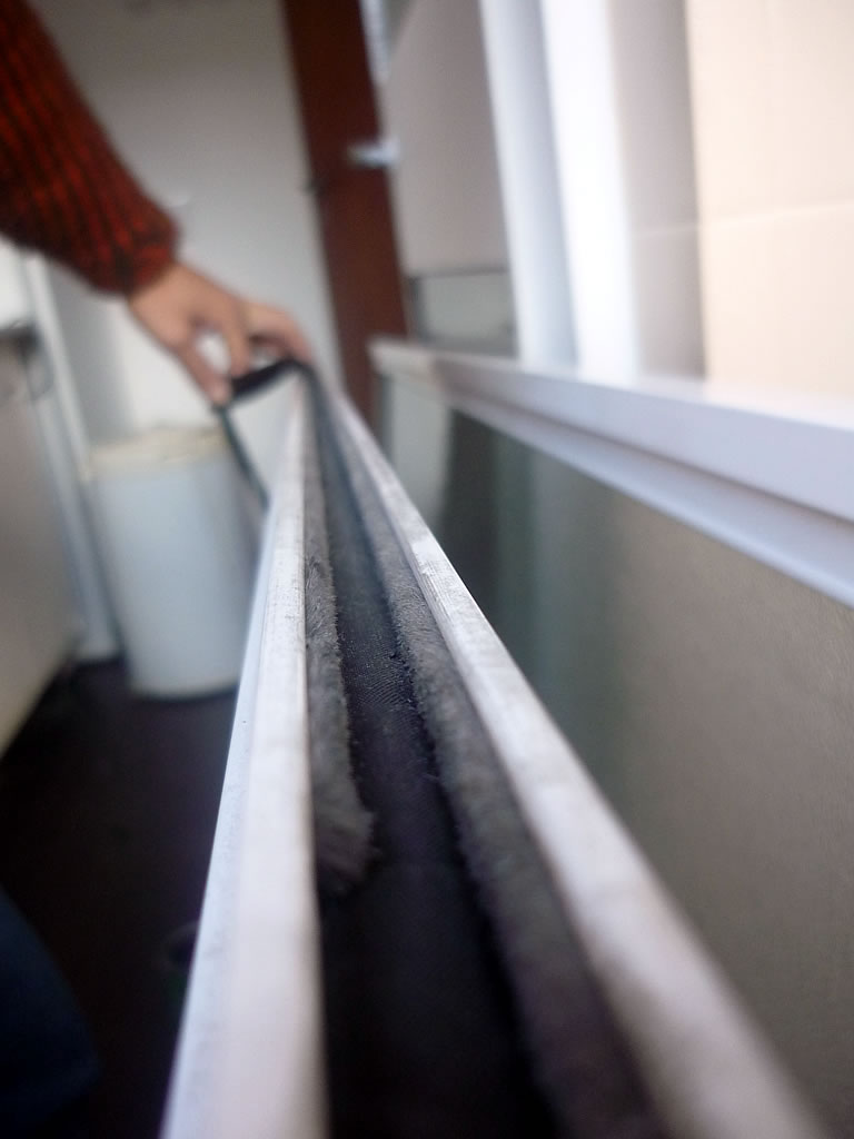 Aislación filtración de polvo